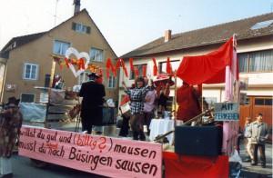 Büsinger Fasnacht 1985 06_01