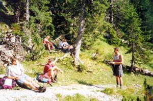 Bergtour Austria 1997 03_01