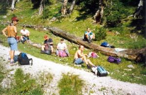 Bergtour Austria 1997 04_01