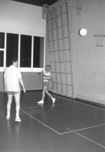 Korbball-Training 01